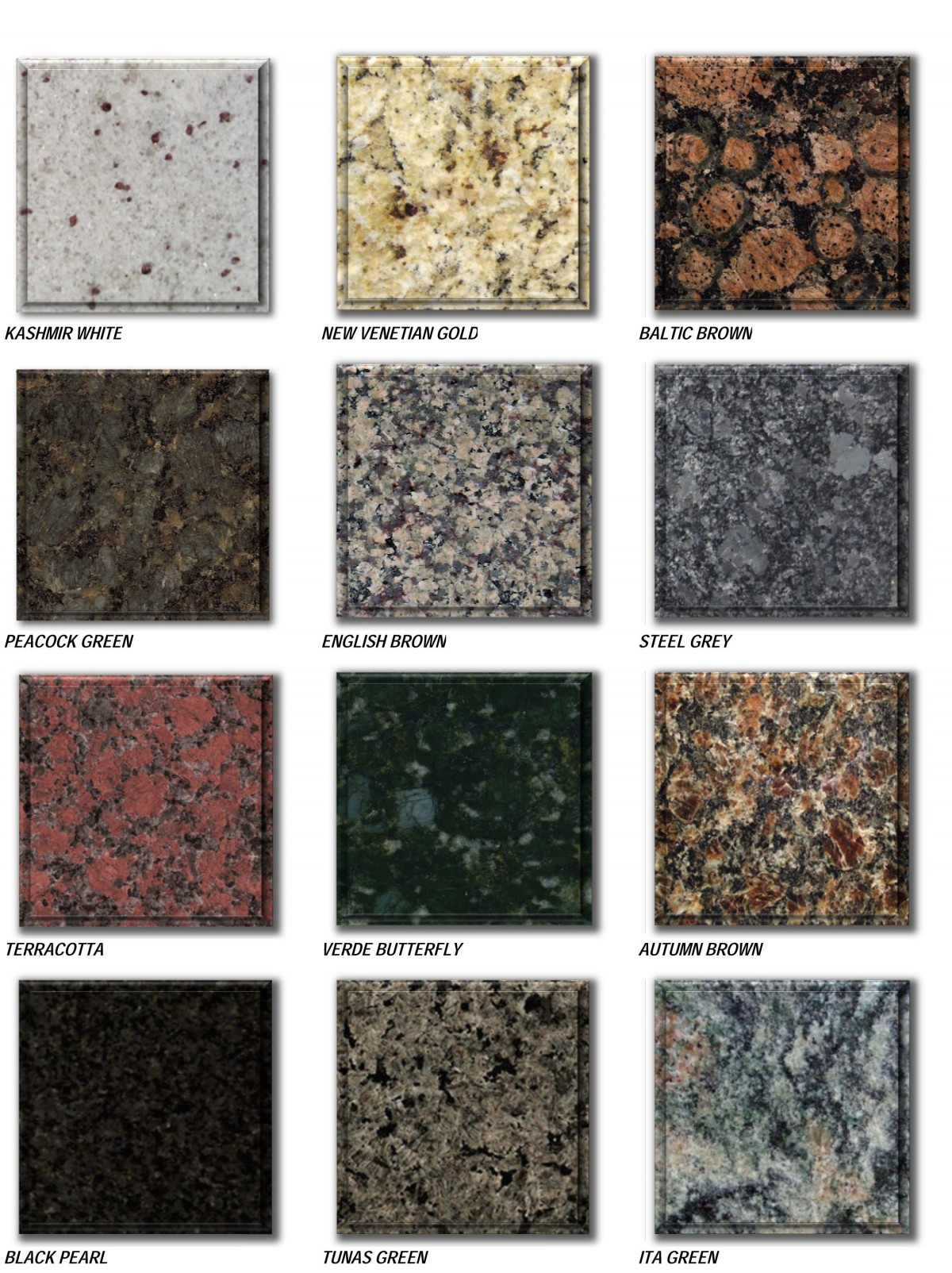 granite prices brochure - standard colors-3