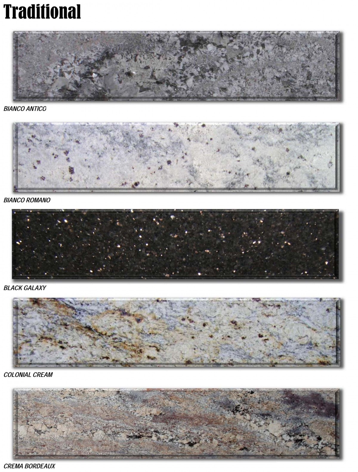 granite prices brochure - traditional colors reduced -2