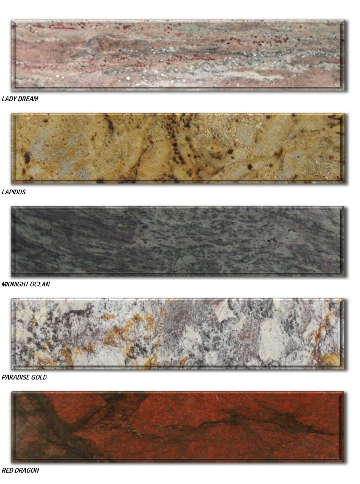 granite prices brochure - traditional colors reduced -5