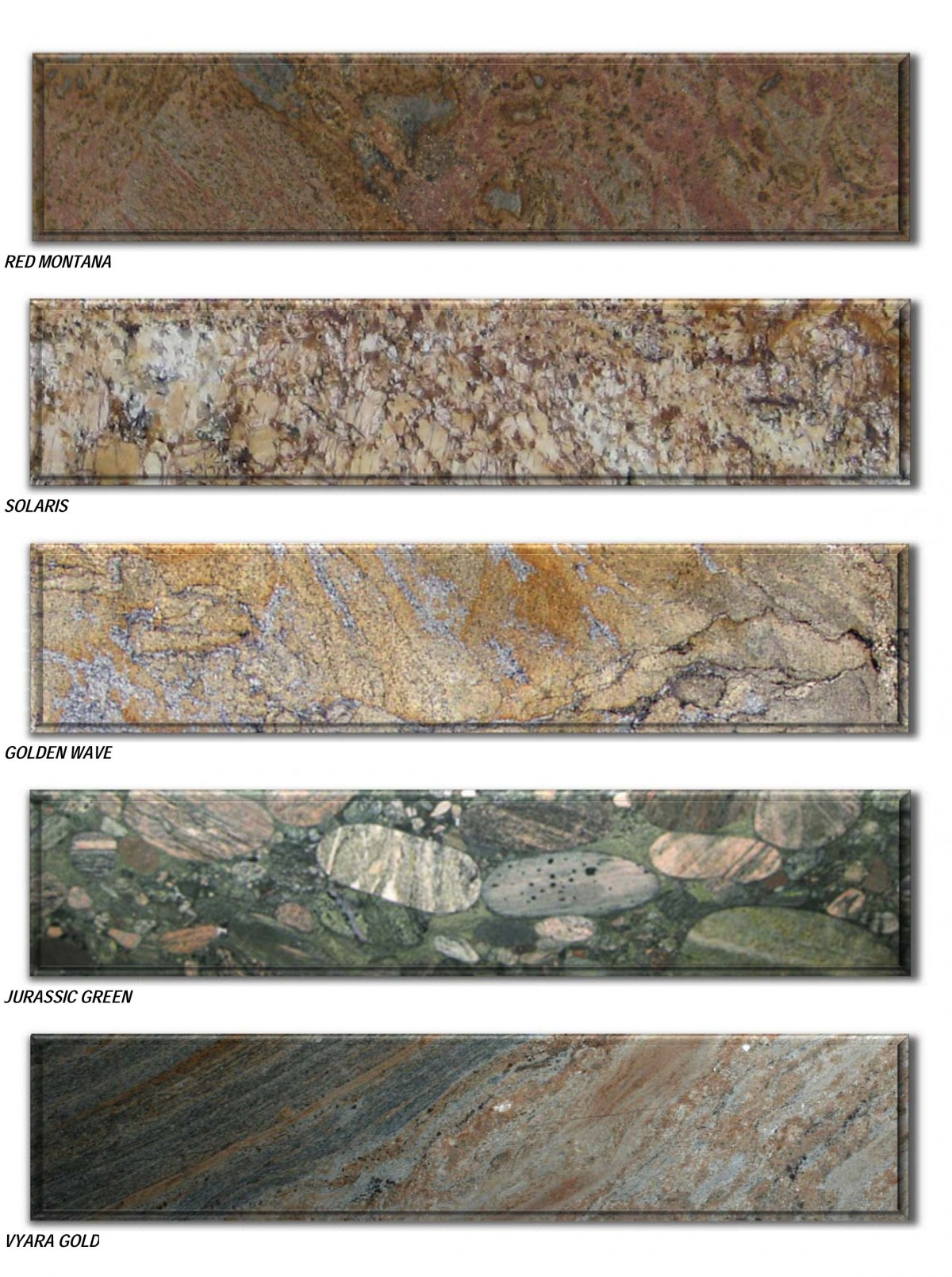 granite prices brochure - traditional colors reduced -6